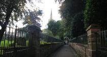 Montrose Churchyard steps